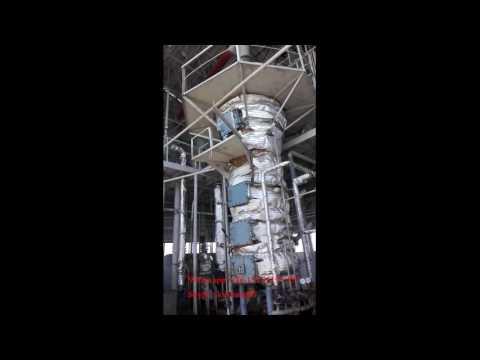 50 tonnes per day sunflower oil processing plant installed in Uzbekistan
