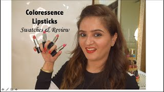 Coloressence Lipsticks Swatches amp Honest Review Lipsticks Under 200 Rupees Swatches amp Review