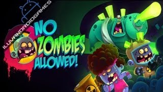 No Zombies Allowed Gameplay