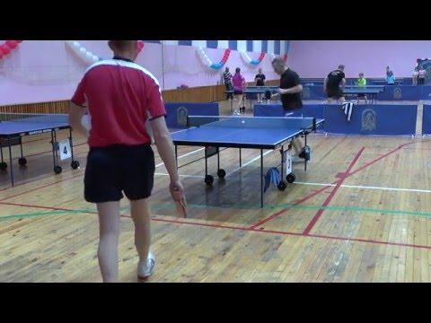 Сергей ПОДОБЕД - Алексей ЕЛЬНИКОВ Конаковская весна Table Tennis Настольный теннис