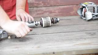 подключение и ремонт двигателя от стиральной машины