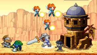 Kingdom Wars! Много золото, новый персонаж! 20 уровень! Clone Armies