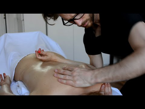 Wellness Massage, ASMR No Talking, Lomi Fascial Release, Part 1