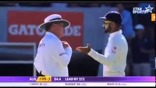 Virat Kohli On Fire Now Warning To Smith today match