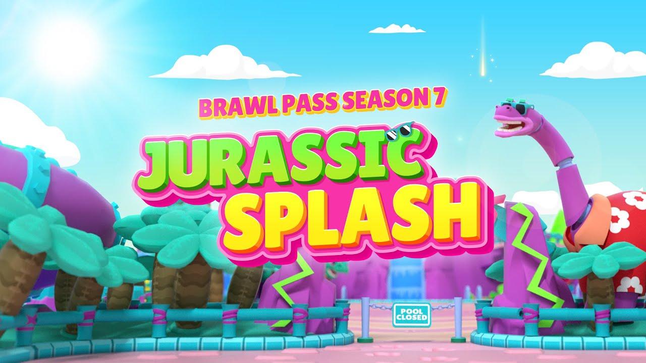 Brawl Stars Animation: Season 7 - #JurassicSplash
