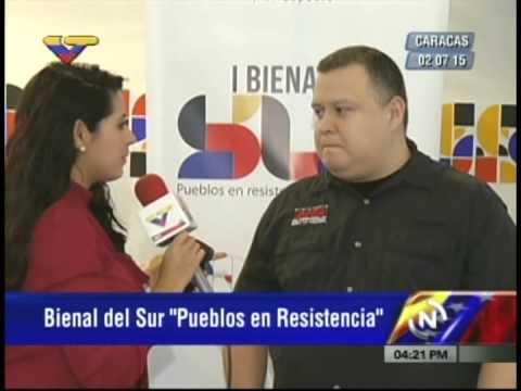 Ministro Reinaldo Iturriza sobre la I Bienal del Sur