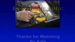 Everything Auto: Battery Basics