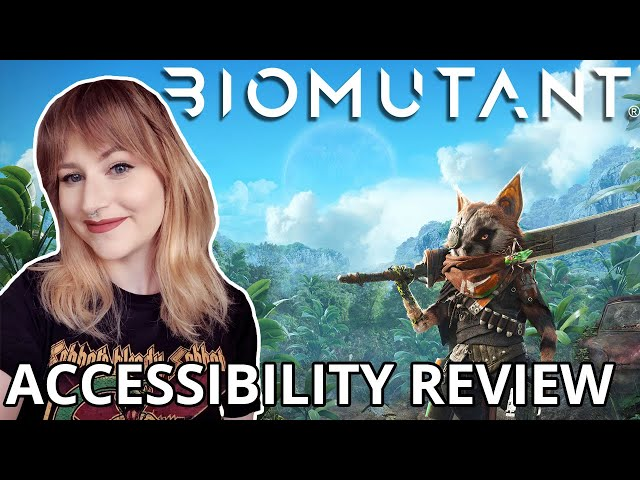 SO FREAKING CUTE | Biomutant | Cognitive Accessibility Review