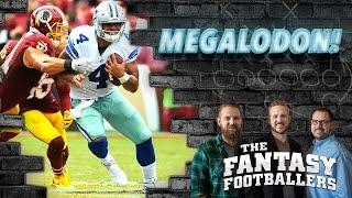 Fantasy Football 2016 - MEGALODON Episode – Week 12 Matchups, Trade Tips, Starts & More! - Ep. #314