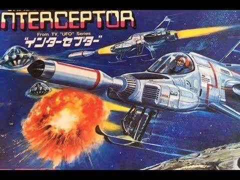 Building Bandai's UFO Interceptor Kit; Part 1