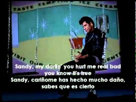 John Travolta - Sandy (Vj Karnal VideoEdit)(Subt. Español Ingles)
