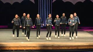 Taps in Motion Remix - Traditional Moving Line - 2016 CCA Showdown