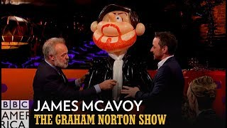 These James McAvoy Models are Truly Terrifying | The Graham Norton Show | BBC America