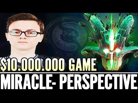 10 000 000 $ Game Miracle Perspective - LIQUID DOTA Is BEST DOTA