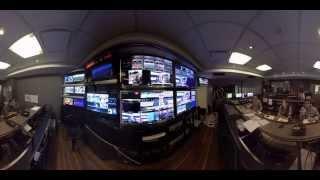 El detrás de cámara de un noticiero de TN en 360°