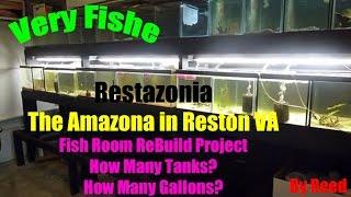 Fish Room Build - 39 Tank Rack