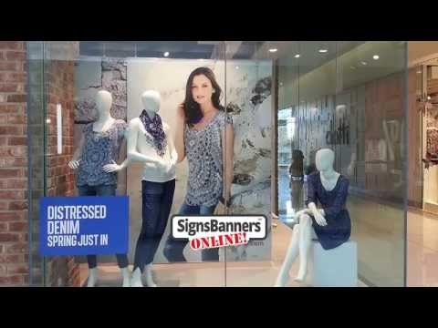 Ideas for Shop Window Displays & Visuals