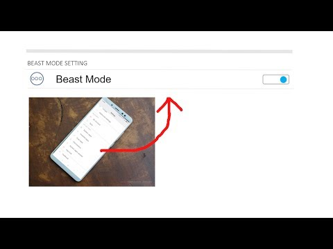 How to Activate BEAST MODE on Redmi Note 5 Pro