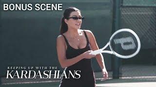 For Kourtney Kardashian The Tennis Struggle Is Real! | KUWTK Bonus Scene | E!