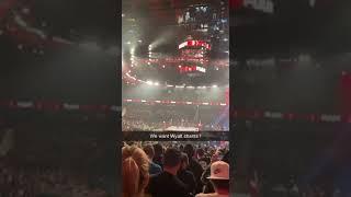 "WWE RAW CROWD CHANTING ""WE WANT BRAY WYATT"" WWE Raw 2 August 2021 #shorts"