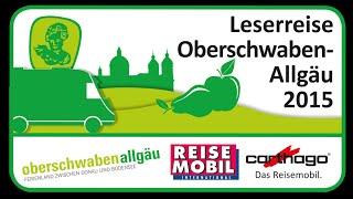 Leserreise Oberschwaben-Allgäu 2015