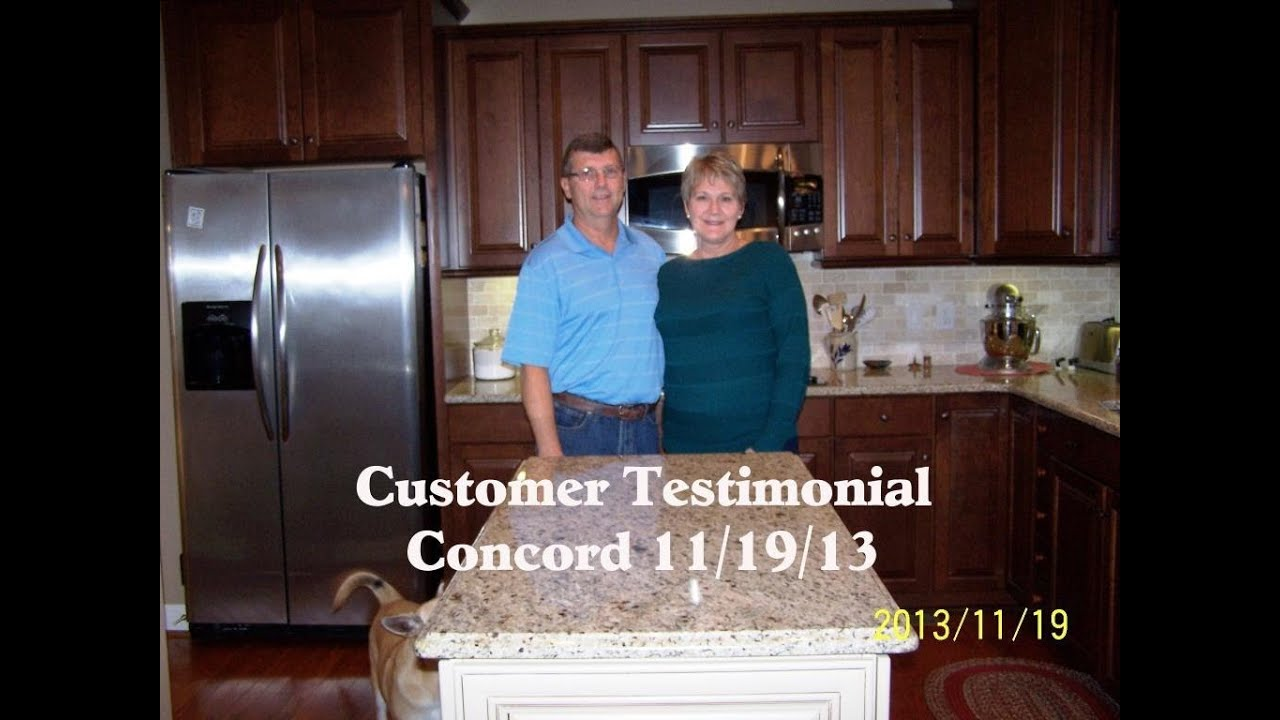 Customer Testimonial Giallo Ornamental Concord Nc 11 19 13 Youtube