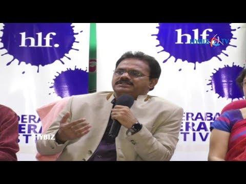 B Venkatesham, IAS | Hyderabad Literary Festival 2018 Press Meet