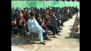 Charsaddad GHS Garhi Hameed Gul Tareeb Alwedai Talebelman 2012