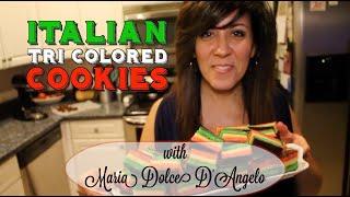 Italian Tri Colored Cookies