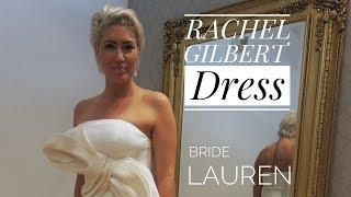RACHEL GILBERT dress altered at La Couturier Alterations worn by bride LAUREN