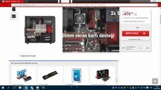 6000 TL PC TOPLAMA GTX 1060 /İ7 6700 CORSAİR KASA