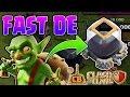 FAST DARK ELIXIR FARMING! - Goblin Knife Full Boost Live Farming! - Clash of Clans - TH9 DE Farming