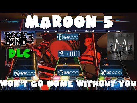 Maroon 5 - Won't Go Home Without You - Rock Band 3 DLC Expert Full Band (June 21st, 2011)