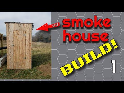 Smokehouse Build Part 1