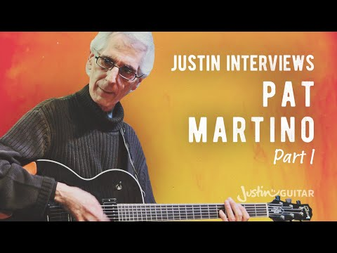 Pat Martino Interview #1of2 (Guitar Lesson MA-004) How to play