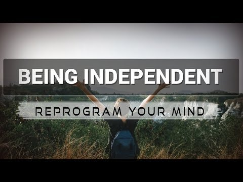 Independence affirmations mp3 music audio - Law of attraction - Hypnosis - Subliminal