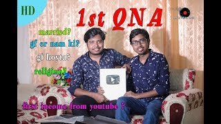First QNA Video Akash Mahmud With Ashique Mahmud | Silver Play Button Uncover | Akash Dream Music