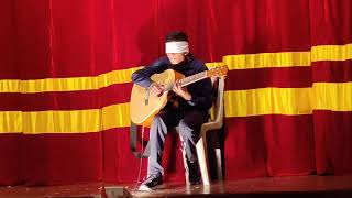 Amin Toofani Gratitude played by Aadit Gajbhiye Blindfold