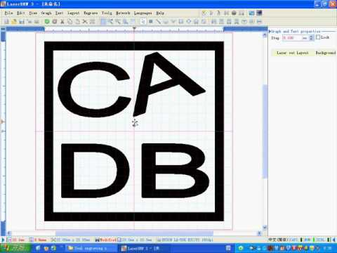 how to install and use coreldraw and laserdrw software video