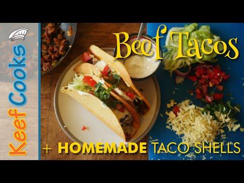 beef-tacos-|-homemade-taco-shells