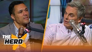Tony Gonzalez on the end of the Seahawks-Jaguars game during Week 14 | THE HERD