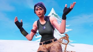 GIRL helps me get the GREATEST COMEBACK WIN in Fortnite HISTORY!