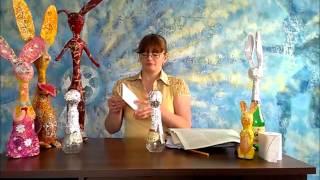 уроки папье-маше Татьяны Молодой - урок № 1