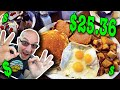 HUGE HUNGRY MAN'S BREAKFAST at Nick's Family Restaurant