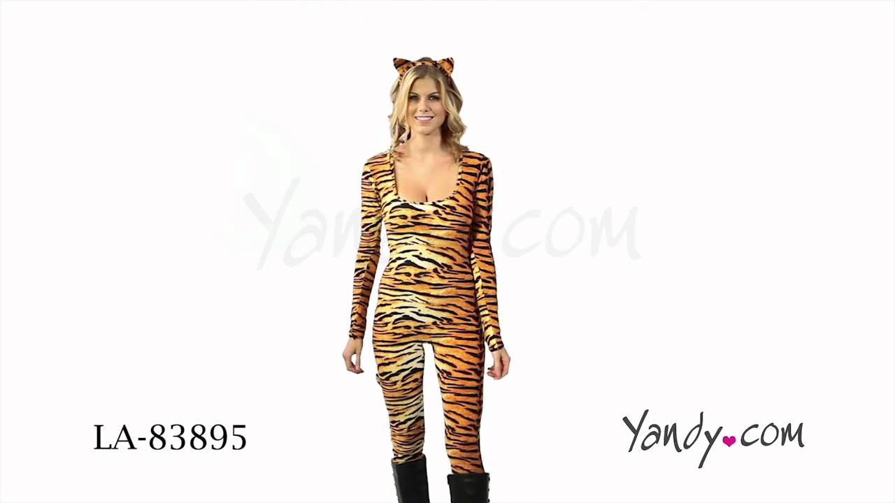 wild tigress costume - Tigress Halloween Costume