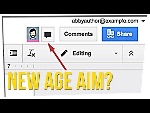 The Coolest Chat App Is Now Google Docs!? (ft. Megan Batoon)