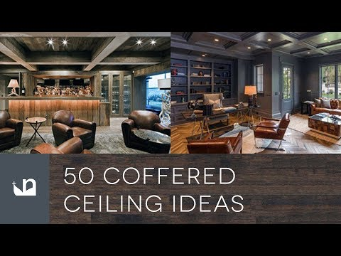 50 Coffered Ceiling Ideas
