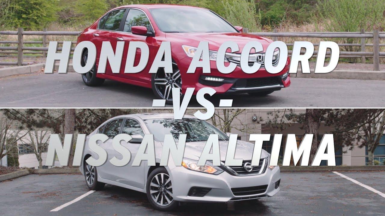 Honda Accord vs Nissan Altima AutoNation