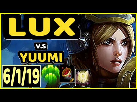 CORE JJ (LUX) vs YUUMI - 6/1/19 KDA BOTTOM SUPPORT CHALLENGER GAMEPLAY - NA