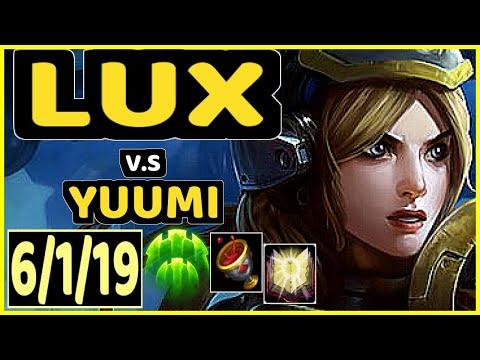 CORE JJ (LUX) vs YUUMI - 6/1/19 KDA BOTTOM SUPPORT CHALLENGER GAMEPLAY - NA